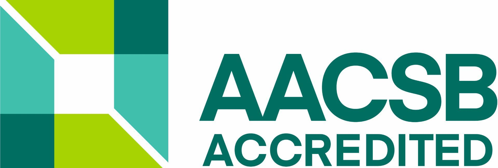 We are AACSB-accredited