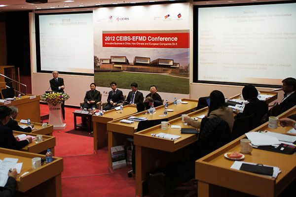 Innovative European and Chinese companies. Conference in Beijing