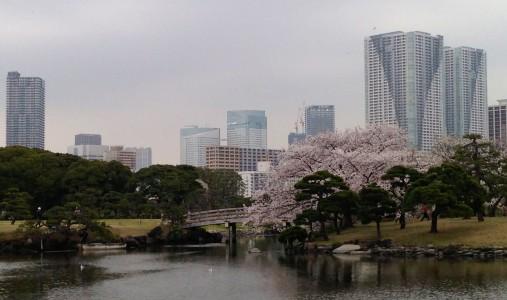 Hama Rikyu Park, Tokyo