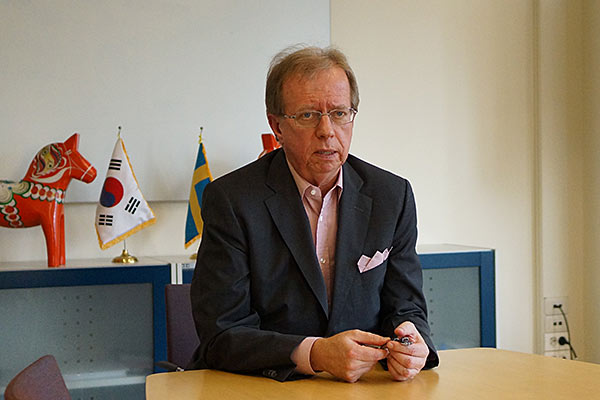 Lars Danielsson, Swedish Ambassador to South Korea