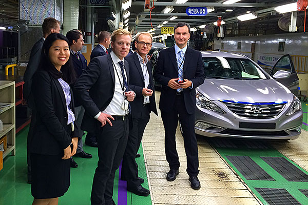 Cars come to life at Hyundai Motor Company
