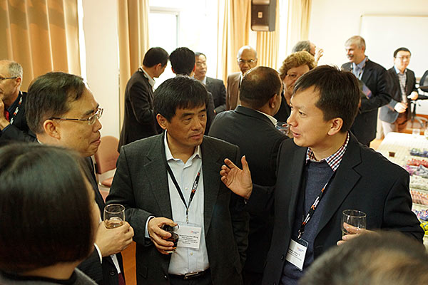 Coffee break discussion with Profs Wei and Ye