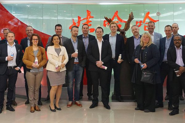 Executive MBA class in China