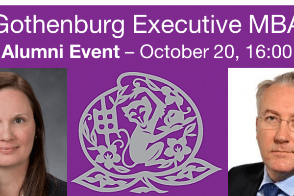 Executive MBA Alumni Event – Managing Global Talent
