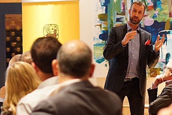 Executive MBA Alumni Event on West Sweden's future development
