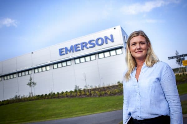 Emerson invests for the future