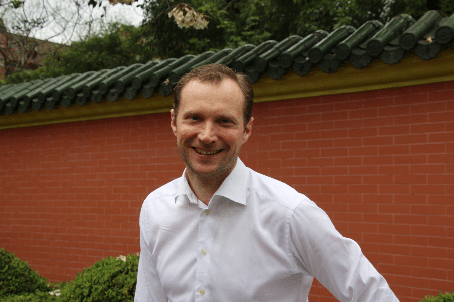 Jens Björkman, Executive MBA 2016-2018, at Shanghai Jiaotong University, China