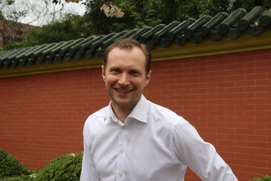 Jens Björkman, Executive MBA 2016-2018, at Shanghai Jiaotong University, China