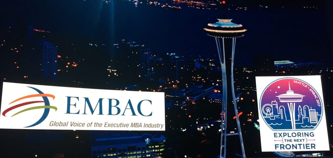 Executive MBA Council Global Conference, October 23-25 2017